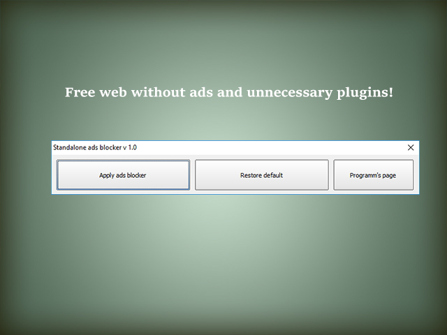 Ads Blocker Freeware