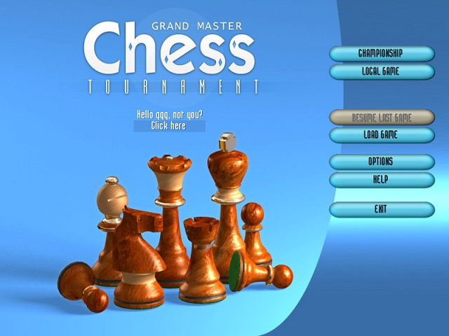 Chess Tournament screenshot