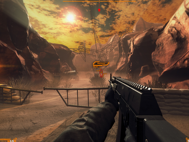 Desert Claw Rising screenshot