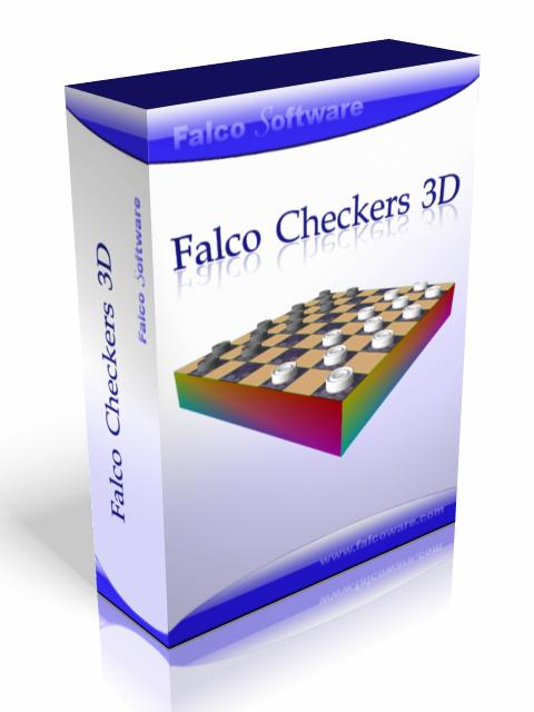 Falco Checkers screenshot