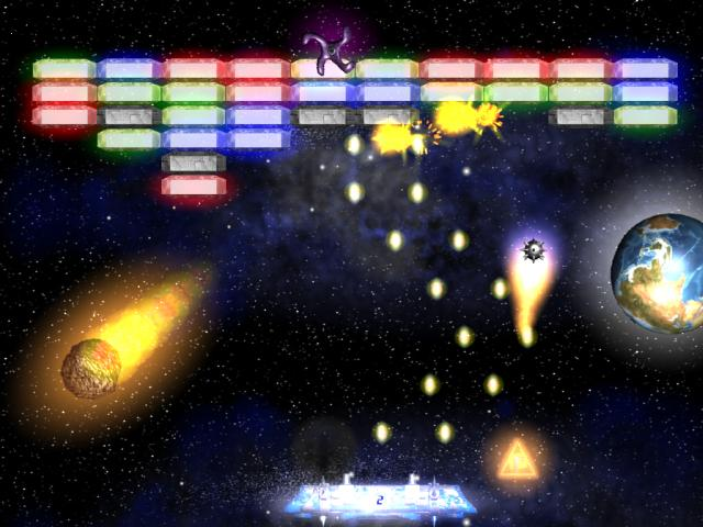 Flaming Ball screenshot