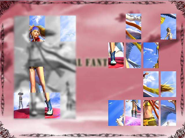 Game Girls Puzzle screenshot
