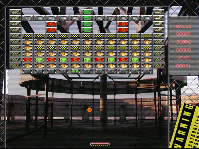 Industrial Ball screenshot