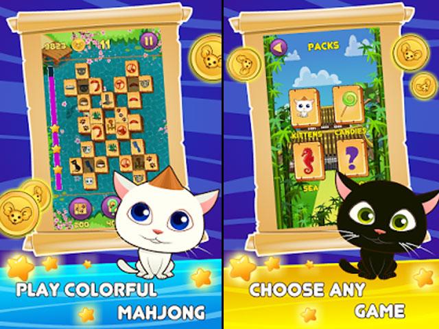 Mahjong Titan Kitty screenshot