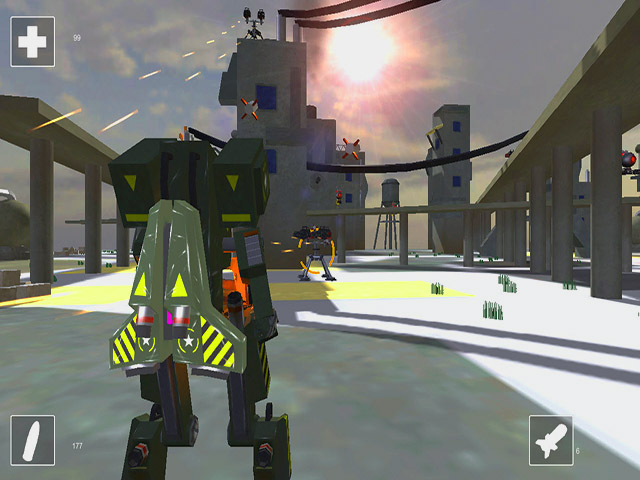 Mech Warrior screenshot