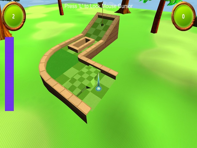 Mini Golf 3D 2 screenshot
