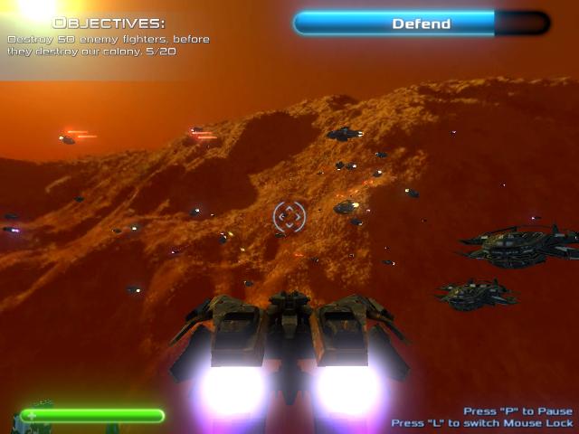 Shadowhawks Squadron screenshot