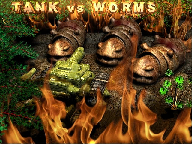 Tanks VS Worms - the name says it all.