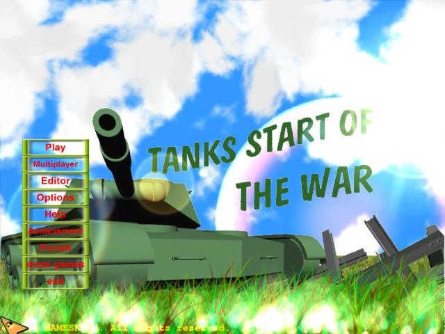 Tanks Start Of The War screenshot