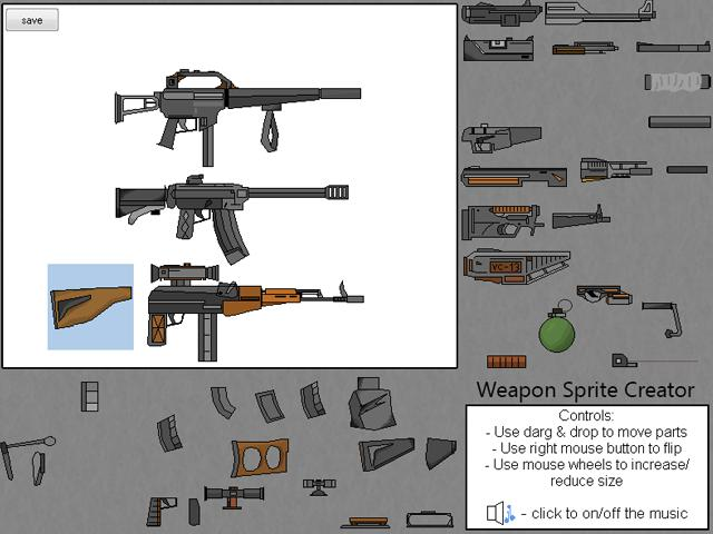 Weapon Sprite Creator