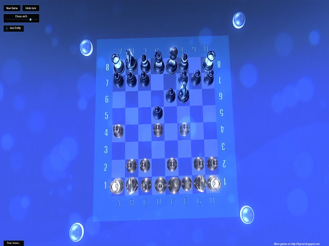 Chess game with enhanced AI in 3D environment. Main feature - smart artificial i