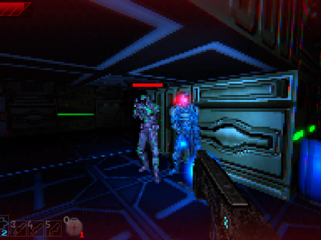 Abandoned Space Retro Sci Shooter Freeware