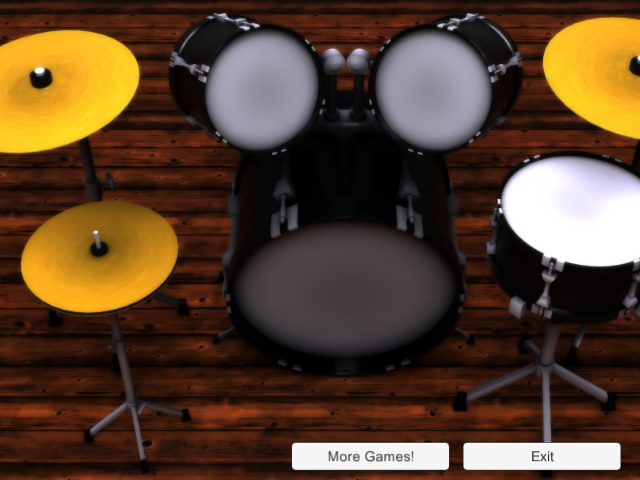 Great simulator of Drums gives you all feeling of Drums player. Beauty graphics