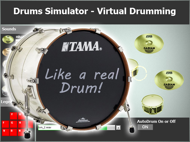 Drums Simulator screenshot