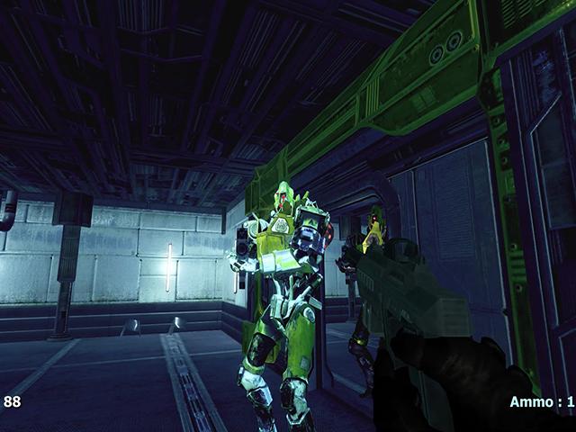Evil Robots Attack 2 screenshot