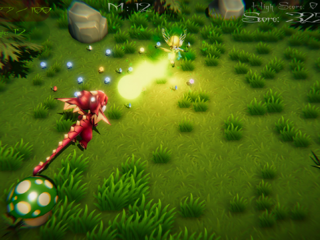 Fairy VS Forest Monsters
