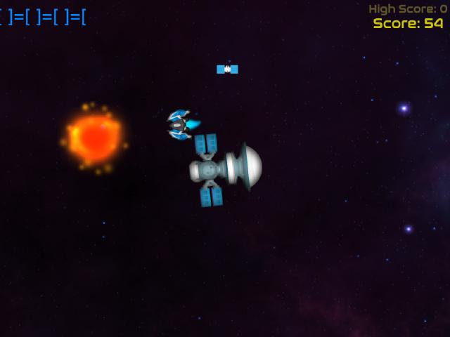 Galactic Station Defence screenshot