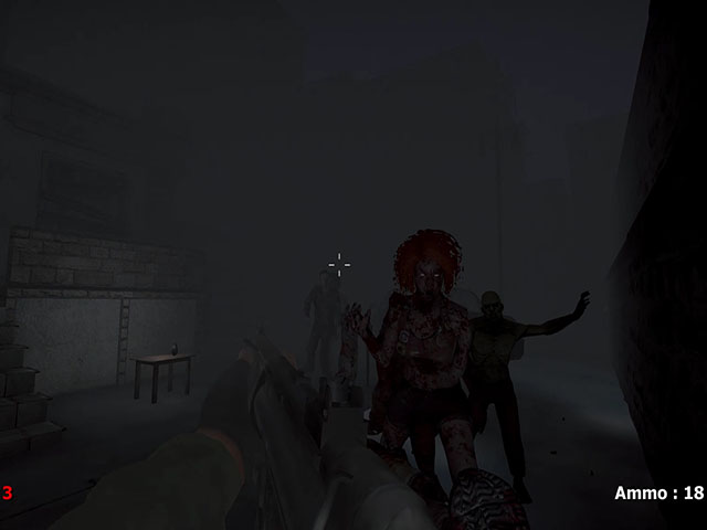 Horror In Ruined City 3