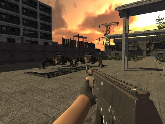 Invasion Of Mechanical Enemies screenshot