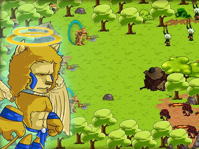 Kings Game Clash Or Defense screenshot