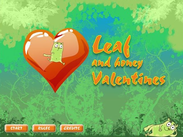 Free download Leaf And Honey Valentines