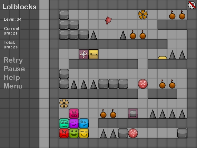 LolBlocks - A fun puzzle game where the aim..
