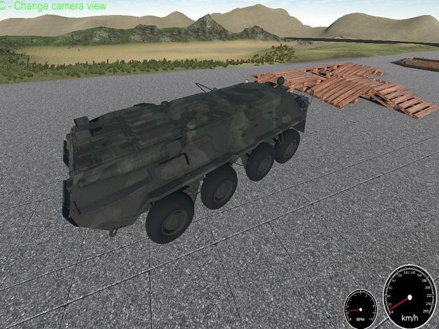 Military Vehicle Simulator