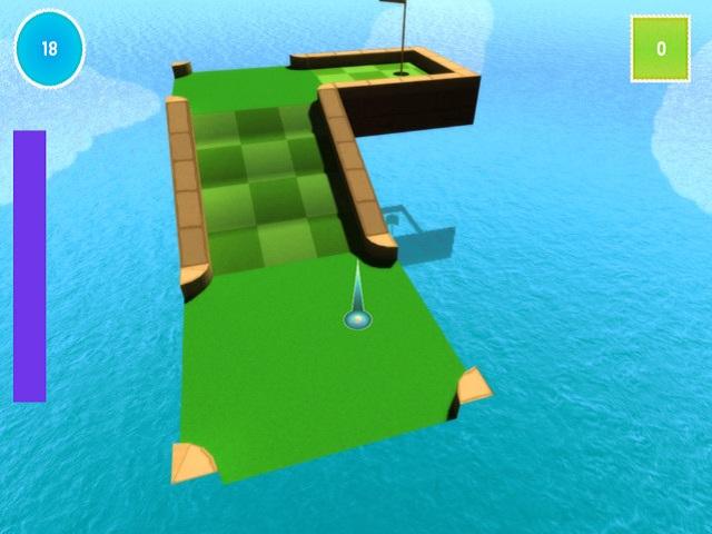 Mini Golf 3D screenshot