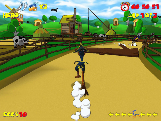 Ostrich Runner screenshot