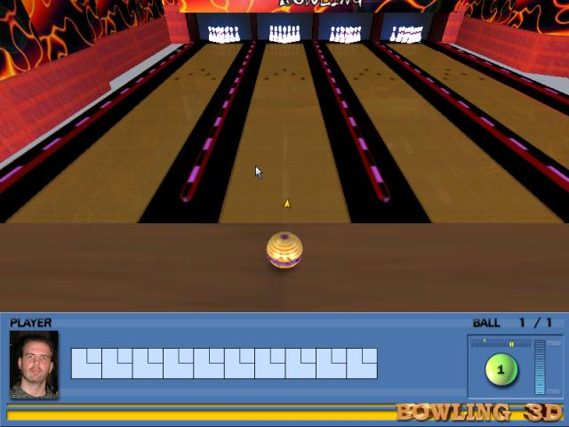 Virtual Bowling at rock'n'roll! It will be liked by all fans.