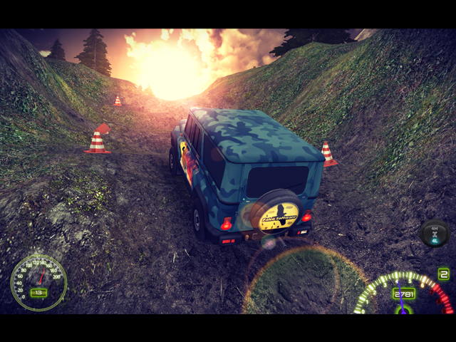 Game Name: Russian OffRoad Simulator HD (HD Russian off-road simulator)