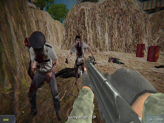 Soldier Vs Zombie Arena