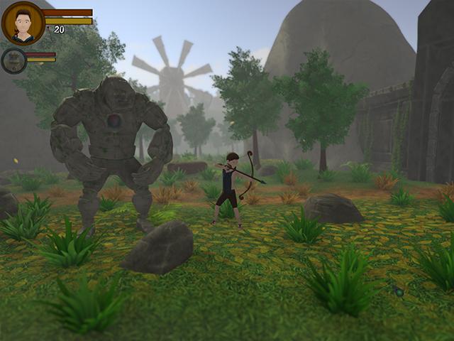 The Boy And The Golem 2 screenshot