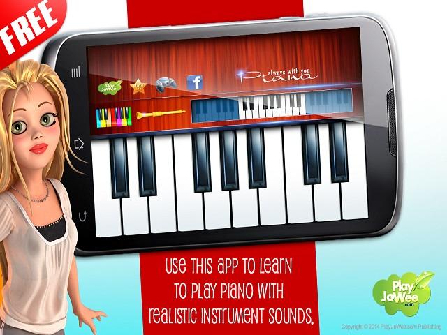 Virtual Piano Play Melody screenshot