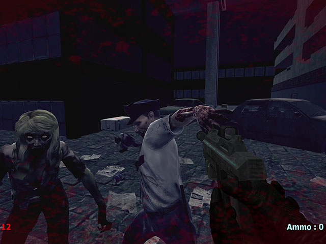 Zombies In The Night Town 2