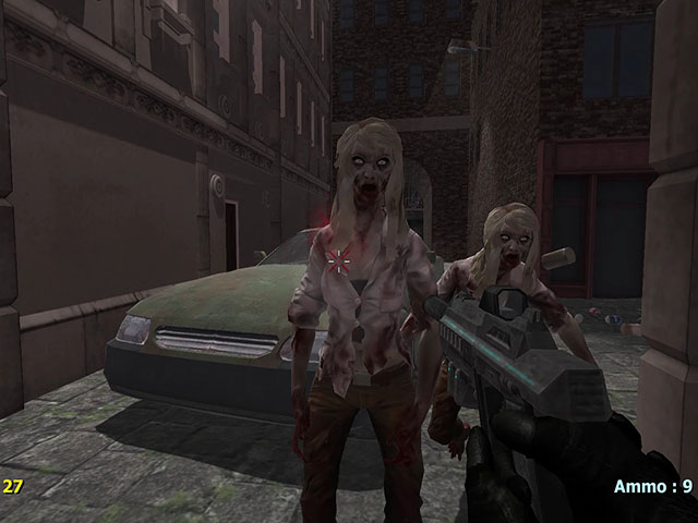 Zombies In The Night Town